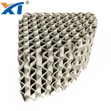 high quality light micro pores ceramic structured packing for packing scrubber tower