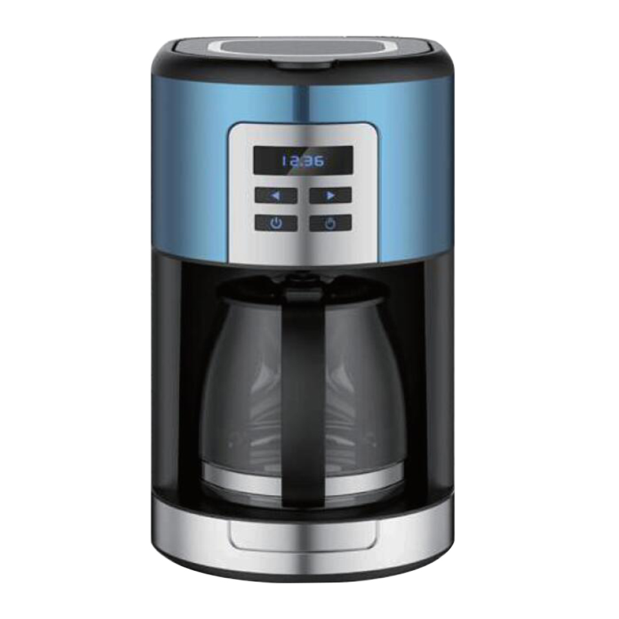 programmable digital clock coffee maker.