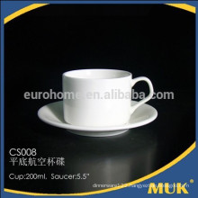 eurohome hot sale restaurant bone china coffee cups and saucer