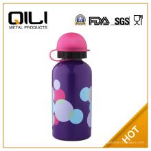 Botella de acero inoxidable de niños libres de BPA