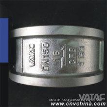 Vatac API/DIN Wafer Dual Plate Cast Steel Check Valve