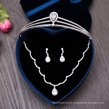 Wedding Accessories Crown Tiaras Necklace Earring