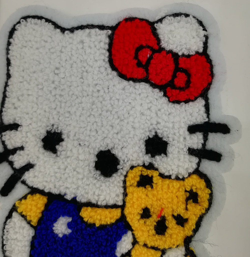 Hallo Kitty Chenille Patches