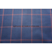 Fashion Check Wool Fabric for Suit