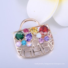 jewelry Champagne gold plated women brooch