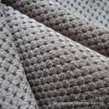 Cortar a tela do veludo de algodão de Micorfiber da pilha para a matéria têxtil home