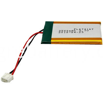 3.7V 2000mAh Lithium Battery Pack
