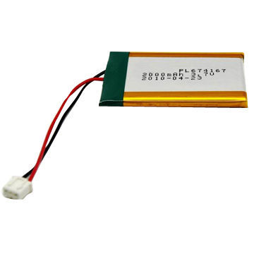 3.7V 2000mAh Lithium polymer small battery