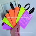 fluorescente equipaje de etiqueta pvc equipaje noctiluciente