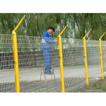 Série de clôtures de protection triangulaire