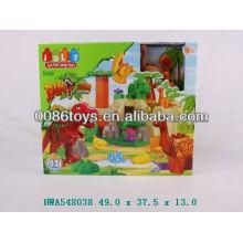 52pcs dinosaur block