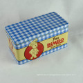 Food Grade Decorative Rectangular Danish Butter Cookie Tins