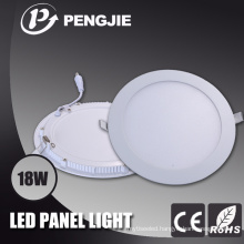 Round 18W LED Ceiling Panel Light with CE RoHS
