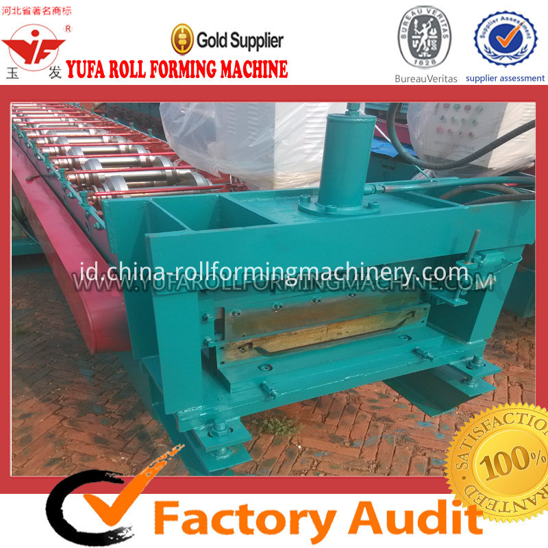 470 arch teeth roof panel roll forming machine