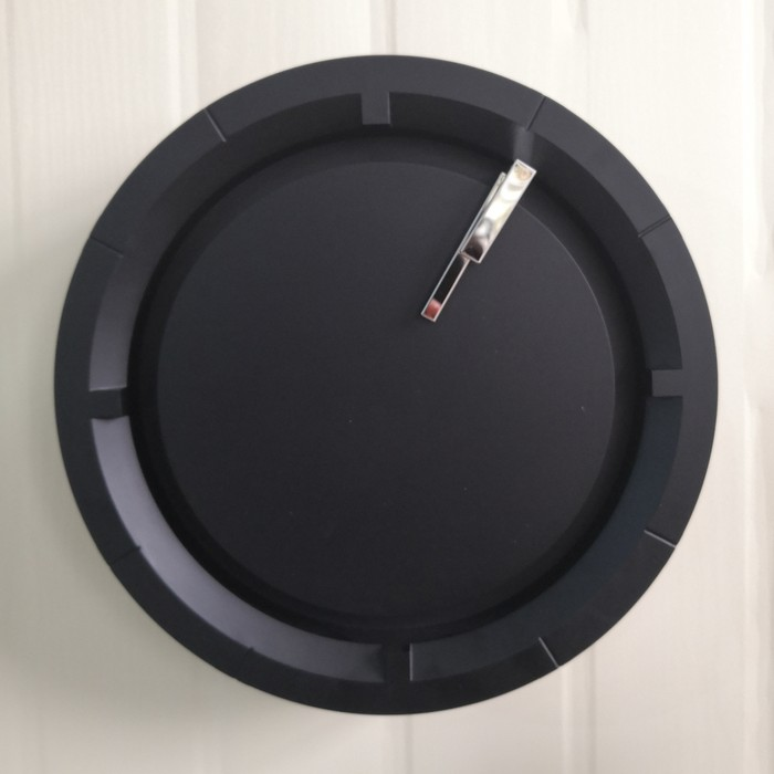 Black Wall Clock Modern