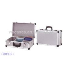 caso CD de alumínio da alta qualidade CD 40 discos (10mm), vendas por atacado de China fabricante