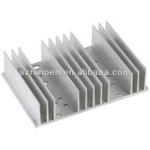Partie en aluminium de la machine à l'extrusion