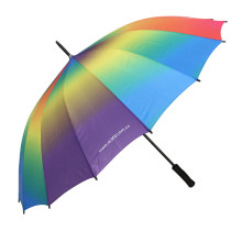 Manual Open Gradient Straight Umbrella (BD-55)