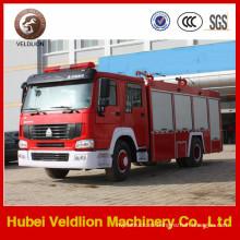 HOWO 266HP 2, camión de bomberos de espuma de 000 litros