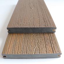 3D Embossing WPC Flooring Wholesale Composite Decking