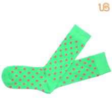 Men′s Dots Pattern Happy Sock