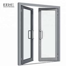 Weiße Aluminiumrahmenschwingereinstiegschlafzimmertür / Haustür