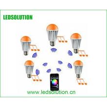 Lâmpada LED E27 de entrada CA de LED inteligente