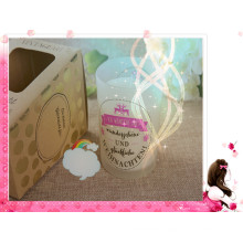 Wet Garden Scented Soy Candle in Glass Luxury with Gift Box