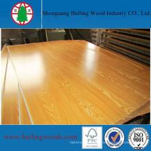 Venta caliente de madera contrachapada de melamina / contrachapado comercial para muebles de casa
