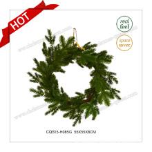 22′′ Seasonal Plastic Green Commercial Christmas Wreath
