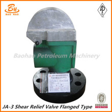 Factory Supply JA-3 shear relief valve flange type in stock