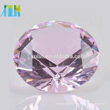 Top Qualidade Clear Diamond 60mmDiamond Jóias para presentes de casamento indianos para os hóspedes