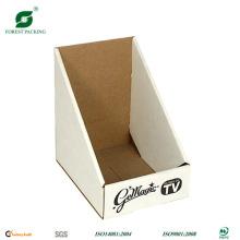 Caja de presentación de forma triangular