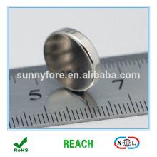 9.5x2.5mm runde Plakette Typ Magnete für namecard