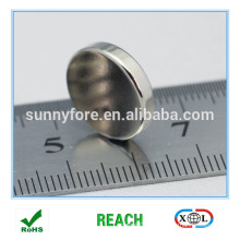 9.5x2.5mm round badge type aimants pour namecard