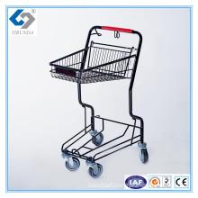 Supermarket Hand Push Basket Trolley Carts