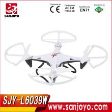 Новейшие ЛИШИ игрушки горячая продажа!2.4 г 4ch беспроводной пульт дистанционного управления с fpv drone с камерой в режиме реального времени передачи RC самолеты SJY-L6039W