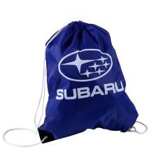 Promotional foldable laundry drawstring shopping polyester bag