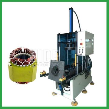 Auto induction motor stator coils forming shaping machine