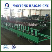 Double Layer CNC Farbe Stahl Rollenformmaschine / Dachziegel Zink