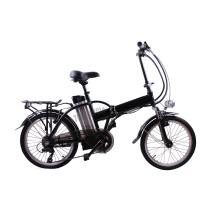 CE pass electric bike 20inch mini smart folding electric bicycle foldable