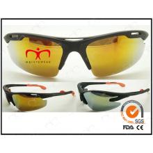 Mariposa especial en forma de plástico de diseño deportivo gafas de sol (lx9872)