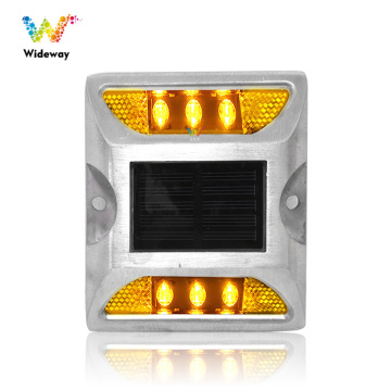 Led refletivo de alumínio Cat Eye Solar Road Stud