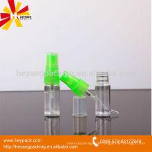 10ml clear plastic mini spray bottle