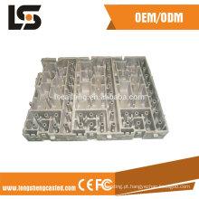 Peça sobressalente de processo de fundição de alumínio para comunicação