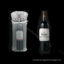 Werbeartikel aufblasbare Spalte Airbags für Weinflasche