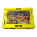 Wholesale custom brain game High quality flat jigsaw puzzle 100000 piece puzzle