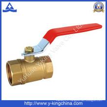 Prix de gros éteint la vanne à eau en laiton (YD-1007)