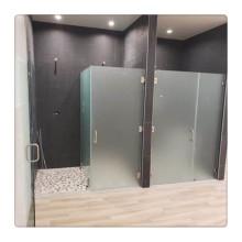 Custom Frameless Shower Enclosure Door Glass Panel