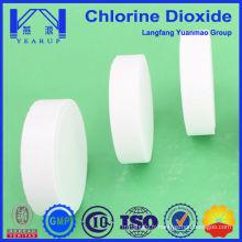 Traitement de l'eau Utilisation chimique Tablette de dioxyde de chlore 100 g